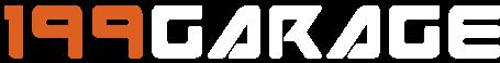 Scritta logo autofficina 199 Garage